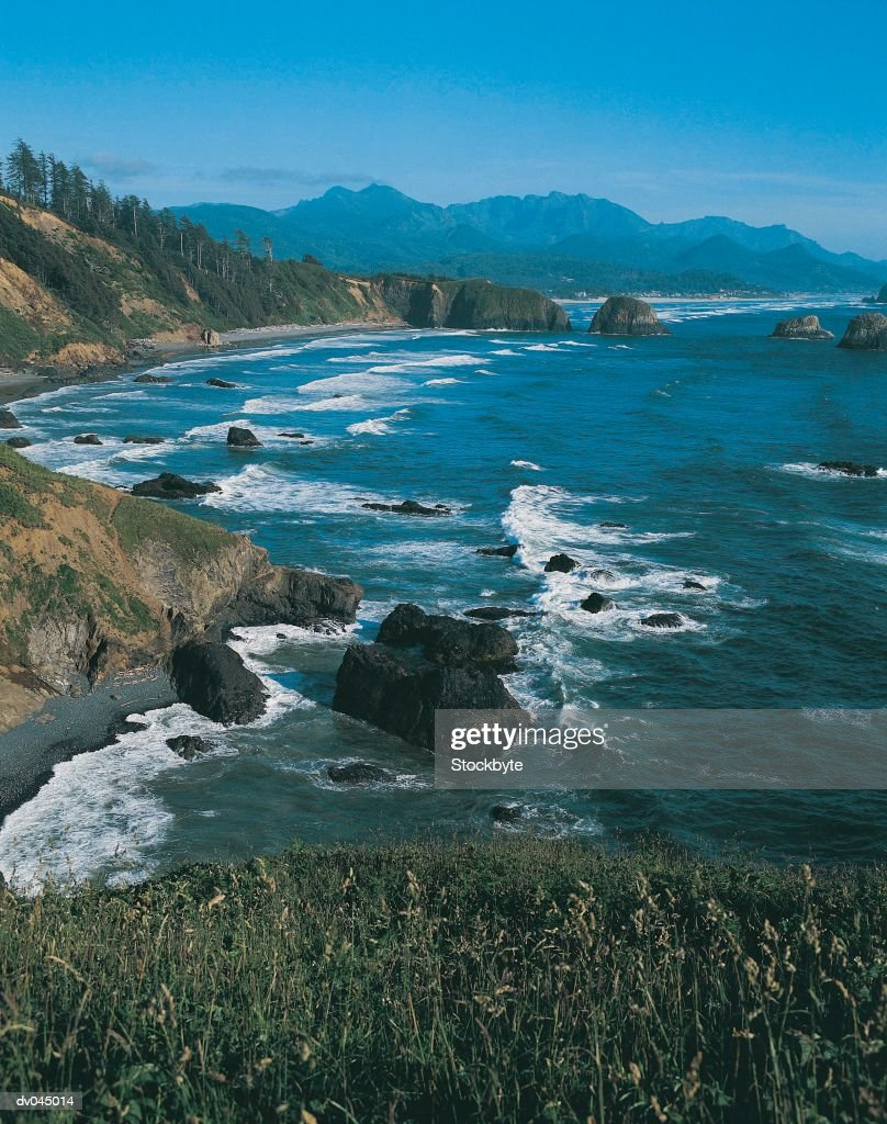 Cannon Beach from Ecola State Park, Oregon, USA