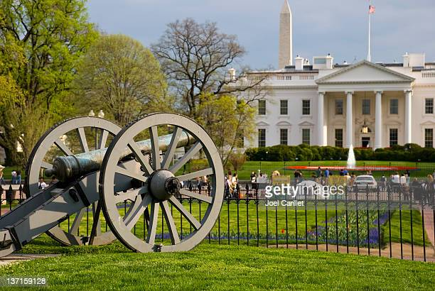 Cannon in Lafayette Park in front of White House