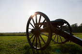 Cannon, Wilderness Battlefield, Fredericksburg and Spotsylvania National Military Park, Virginia, USA