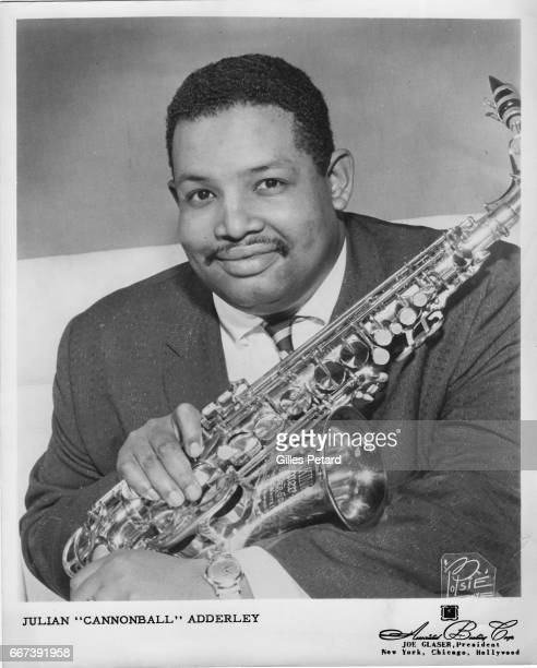 Cannonball Adderley studio portrait United States 1961