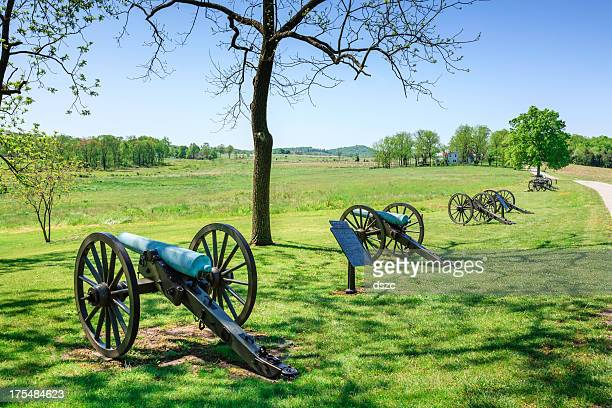cannons at Gettysburg National Military Park