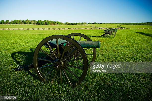 Cannons at Pea Ridge National Military Park