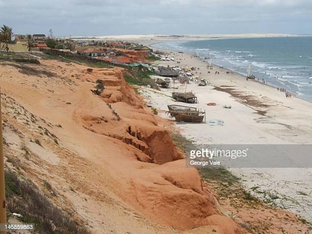 Canoa Quebrada beach
