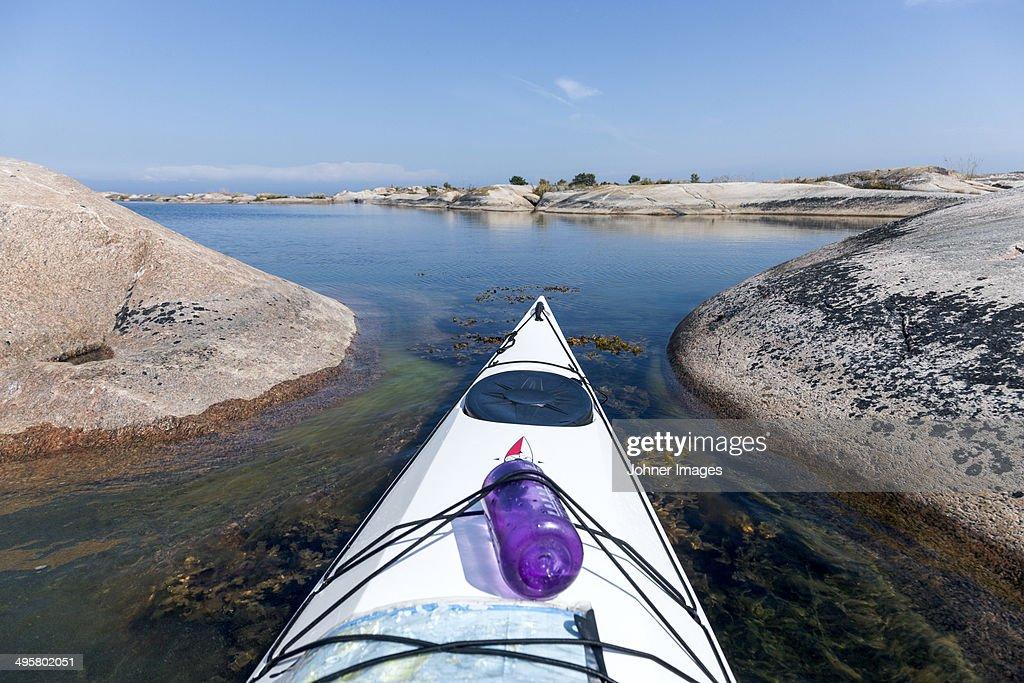 Canoe bow, Sweden