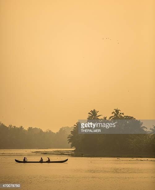 canoe in Kerala