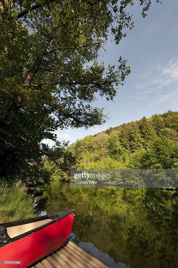 Canoe : Stock Photo