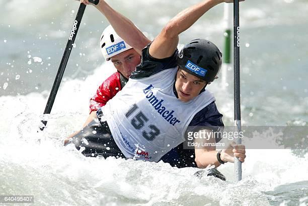 Canoe Slalom World Championships Two Men Martin Braud and Cedric Forgit