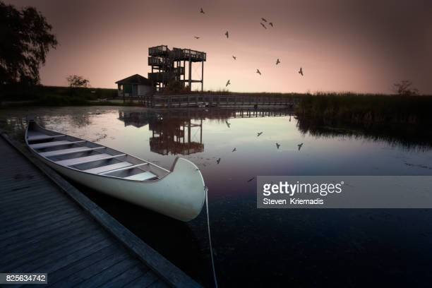 Canoeing at Point Pelee National Park