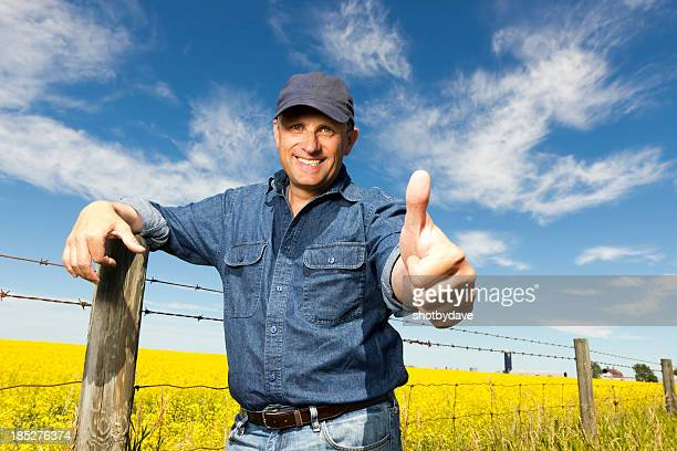 Canola and Thumbs Up