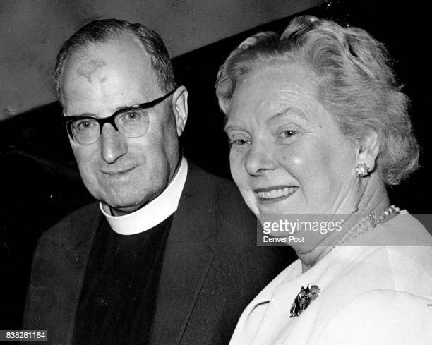 Canon and Mrs Norman Woodhall of London England were guests at the Stock Show Ball He's canon of Winchester Cathedral and chaplain at Westminster...