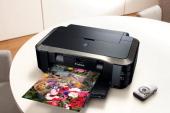 Canon PIXMA iP4850 printer session for PC Plus Magazine taken on May 31 2011