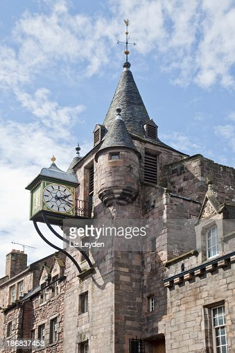 Canongate Tolbooth, Royal Mile, Edinburgh