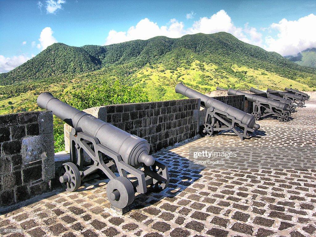 Canons at Brimstone Hill