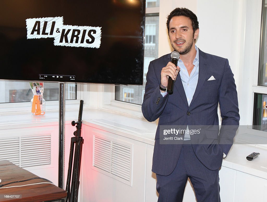 Canopy Brand Group owner Marc Sampogna attends Reality Runway By Ali And Kris at the Ali and Kris Showroom on May 8, 2013 in New York City.