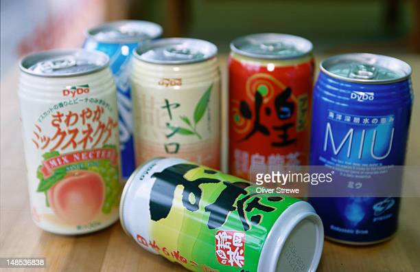 Cans of soft drinks from kochi.