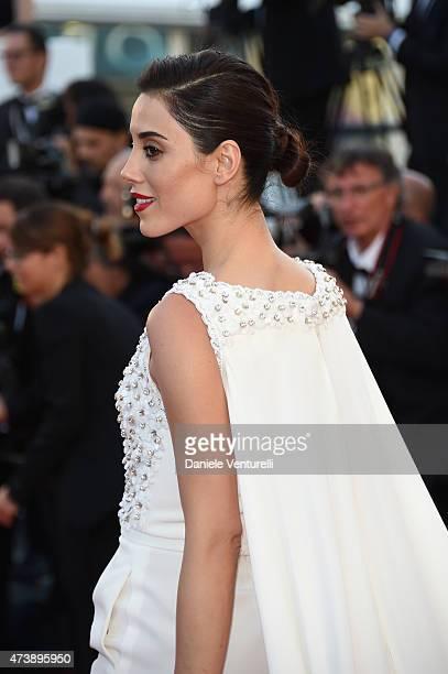 Cansu Dere attends the 'Inside Out' Premiere during the 68th annual Cannes Film Festival on May 18 2015 in Cannes France