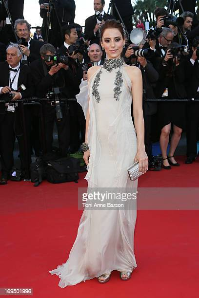 Cansu Dere attends the Premiere of 'La Venus A La Fourrure' at The 66th Annual Cannes Film Festival on May 25 2013 in Cannes France