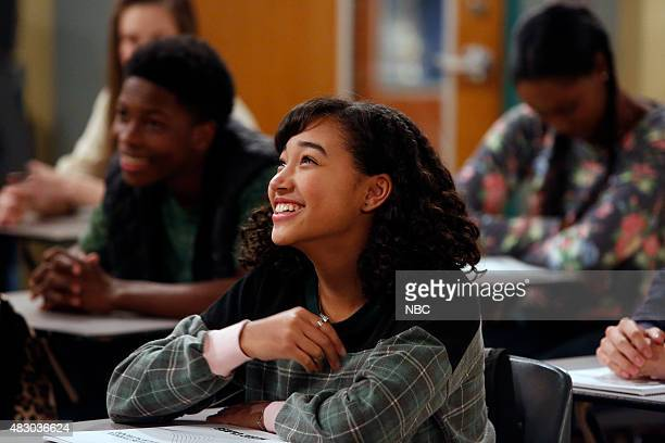 MR ROBINSON 'Can't Buy Me Love' Episode 104 Pictured Dante Brown and Amandla Stenberg as Halle Foster