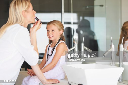 I can't wait to wear my own make-up!