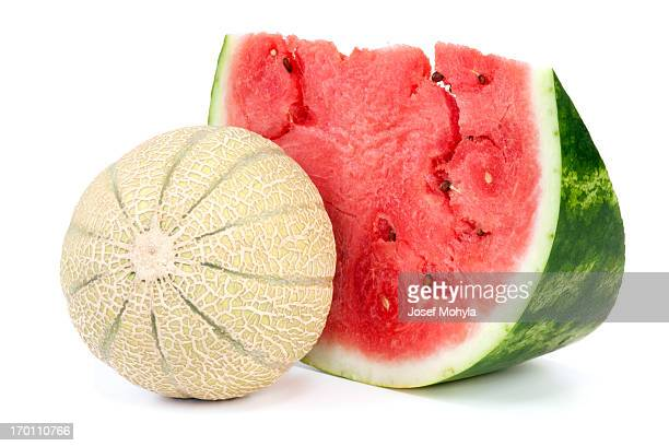 Cantaloupe and Watermelon