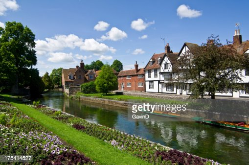 Canterbury and the River Stour