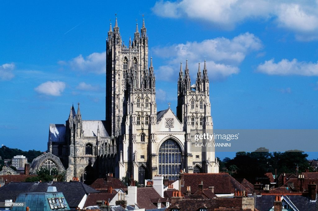 Canterbury United Kingdom  City new picture : Canterbury cathedral , England, United Kingdom. Pictures | Getty ...