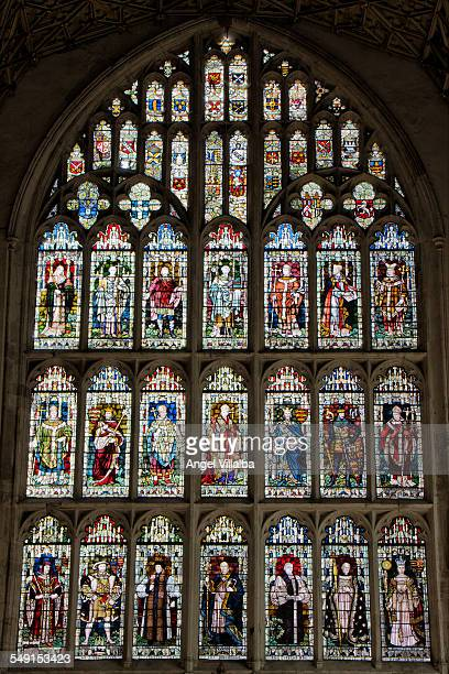 Canterbury Cathedral, Gothic stained glass