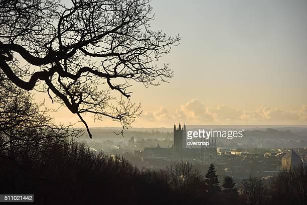 Canterbury dawn