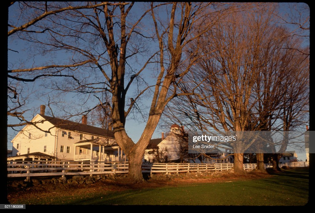 Canterbury Shaker Village in New Hampshire