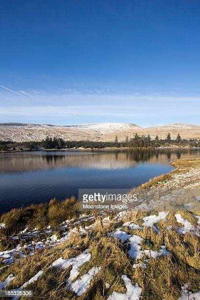 Cantref Stausee in Brecon Beacons, Wales