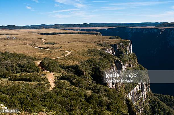Canyon and plateau in Brazil