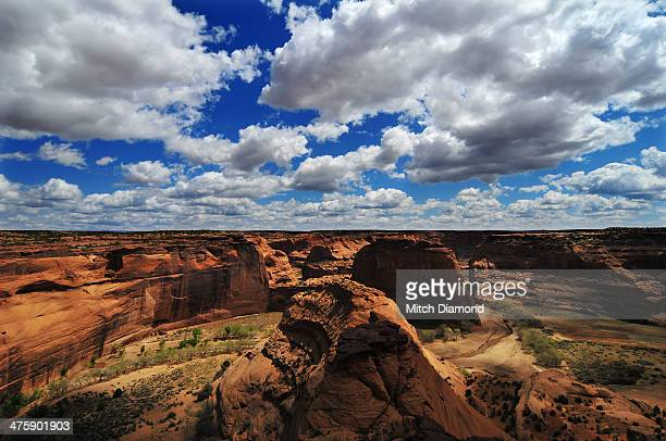 Canyon de Chelly desert landscape