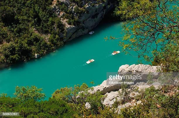 Canyon of the Verdon River Verdon Regional Natural Park Provence Gorges du Verdon ProvenceAlpesCoted´Azur France