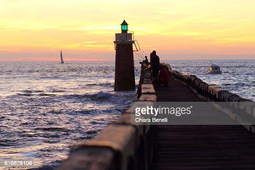 Cap Breton Lighthouse : Stock Photo