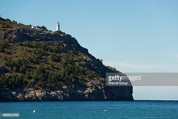 Cap Gros lighthouse in Port de Soller.