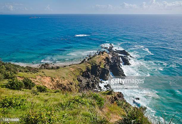 Cape Byron, the most easterly point of the Australian mainland.