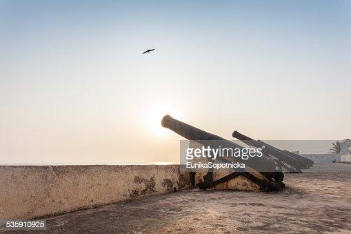 Cape Coast Castle, Ghana, África Occidental : Foto de stock