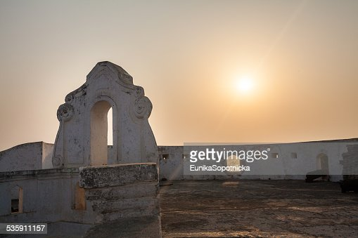 Cape Coast Castle, Ghana, África Occidental : Foto de stock