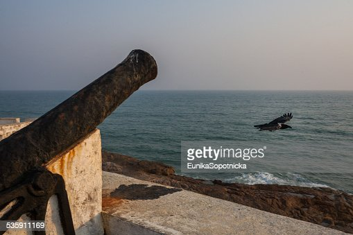 Cape Coast Castle, Ghana, West Africa : Stock Photo