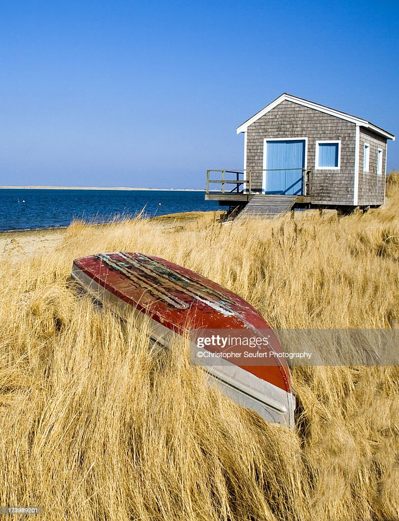 Cape Cod Ocean House : Stock Photo