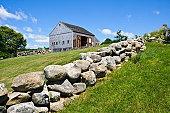 Cape Cod Stone Wall