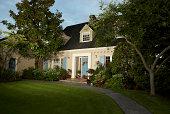 Cape Cod style home, Seattle, WA