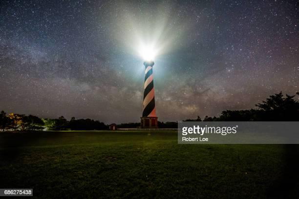 Cape Hatteras Light at Night