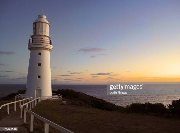 Cape Otway Lighthouse - Winter Sunset