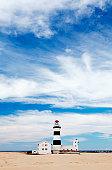 Cape Recife Lighthouse, Port Elizabeth, Eastern Cape Province, South Africa