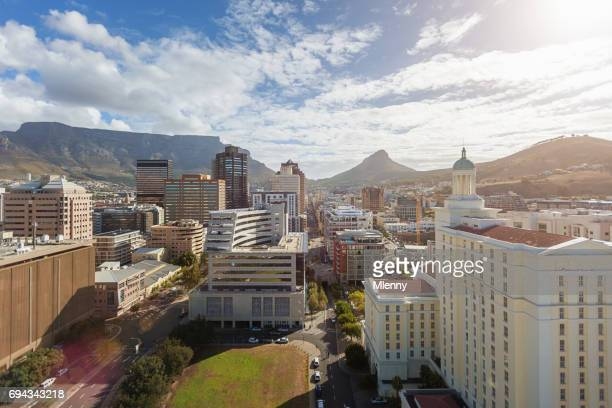 Cape Town City Downtown Business District South Africa