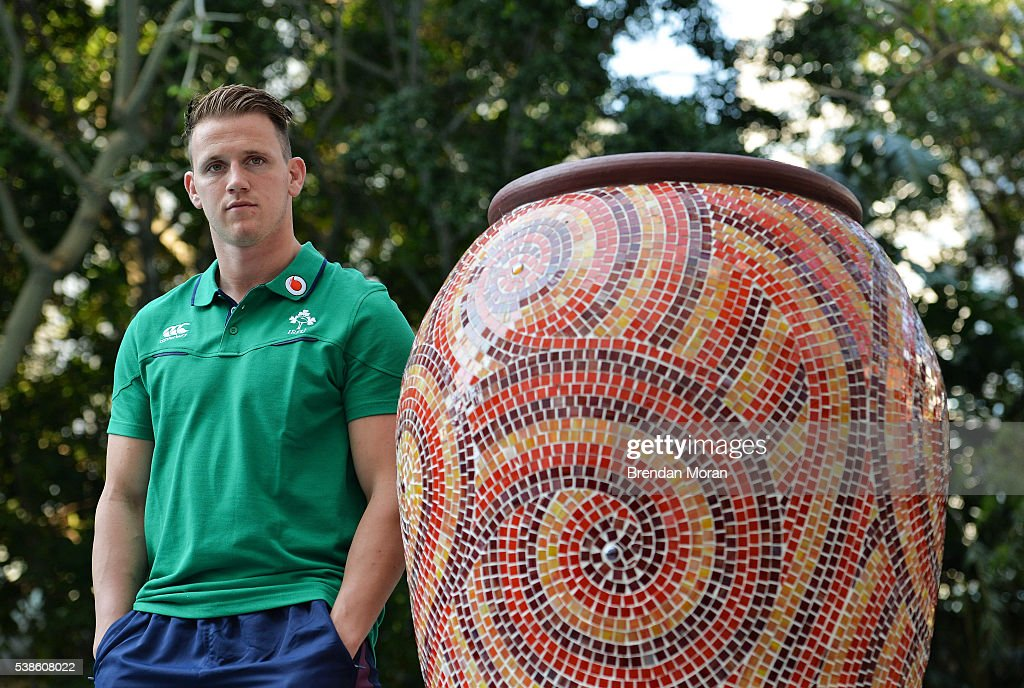 Cape Town South Africa 7 June 2016 Craig Gilroy of Ireland poses for a portrait after a press conference in Southern Sun Waterfront Hotel Cape Town...