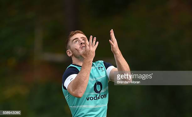 Cape Town South Africa 9 June 2016 Paddy Jackson of Ireland during squad training in Westerford High School Cape Town South Africa