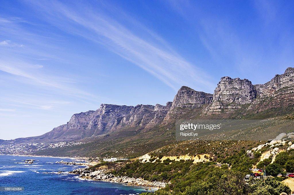 Cape Town's Twelve Apostles: part of the Table Mountain range