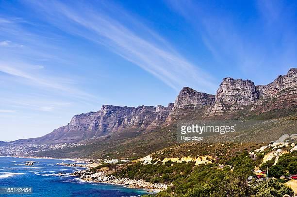 Kapstadt's Twelve Apostles-Bergkette: Teil der Table Mountain range